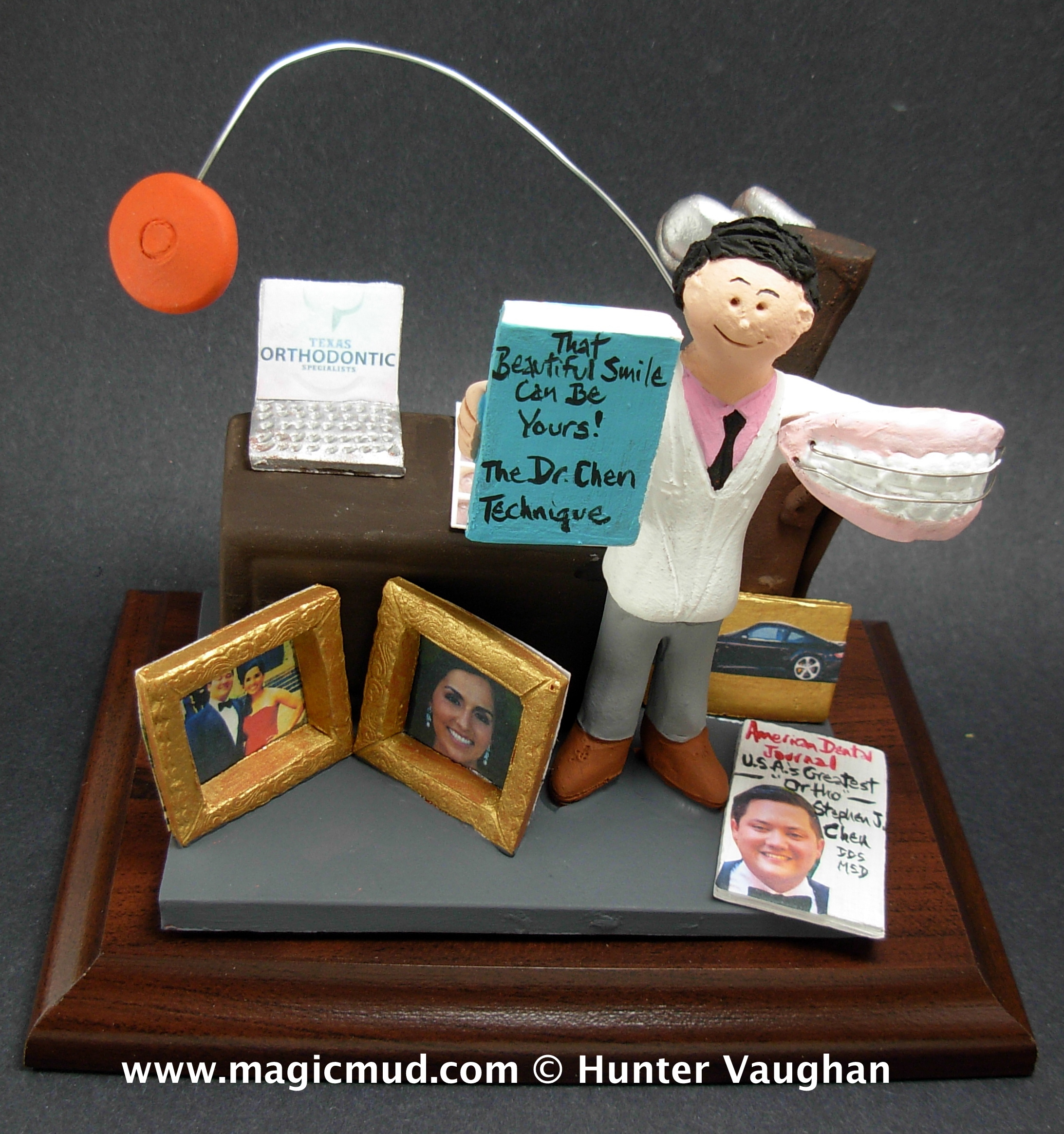 Orthodontist Figurine Custom Made