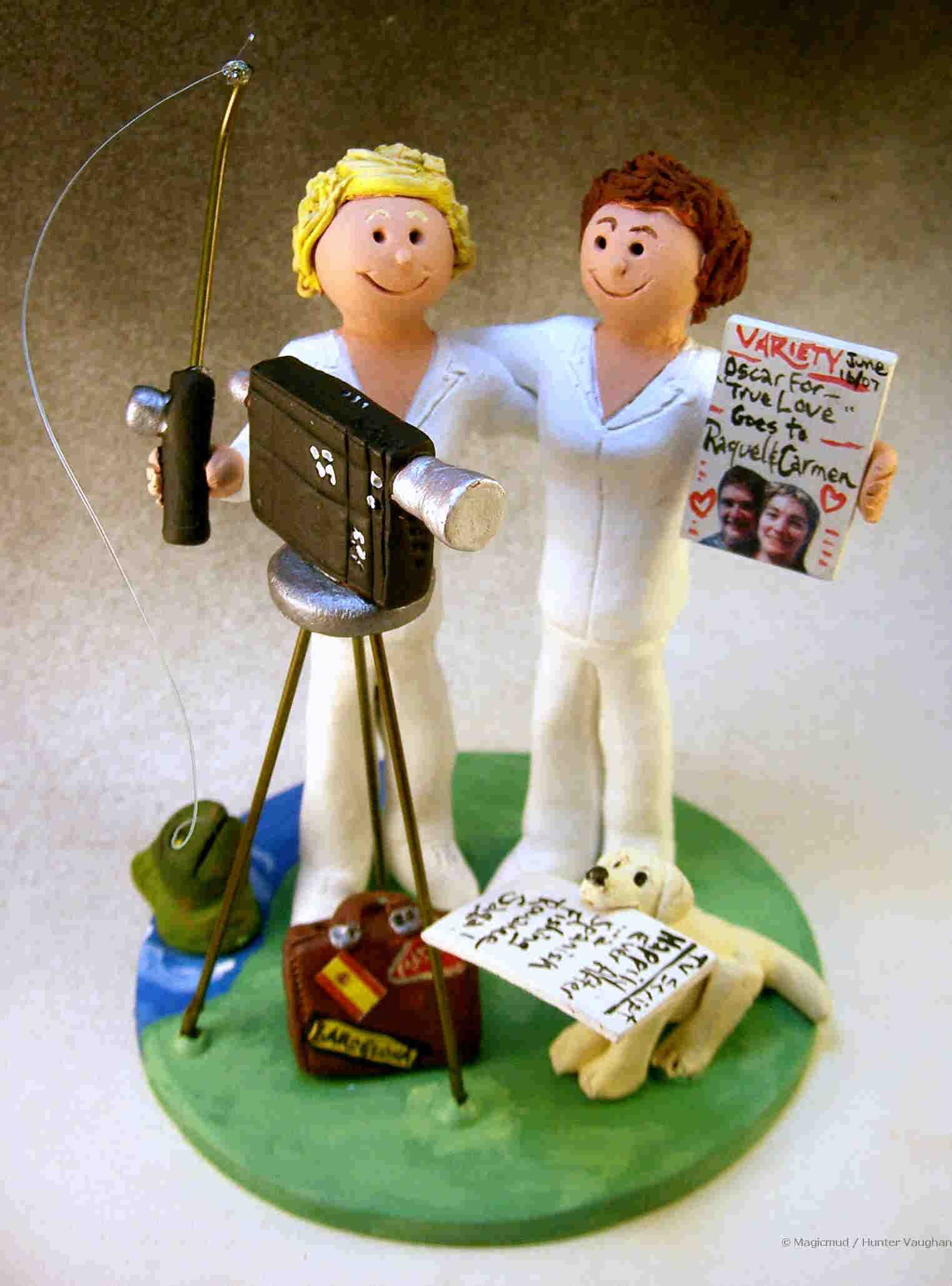 Wedding Cake Topper for a Gay Couple