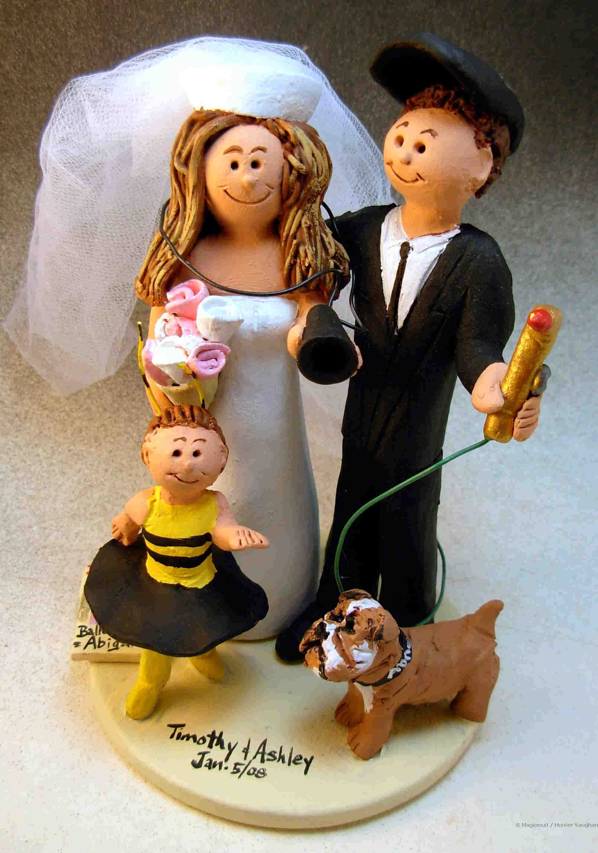 Welder's Wedding Cake Topper
